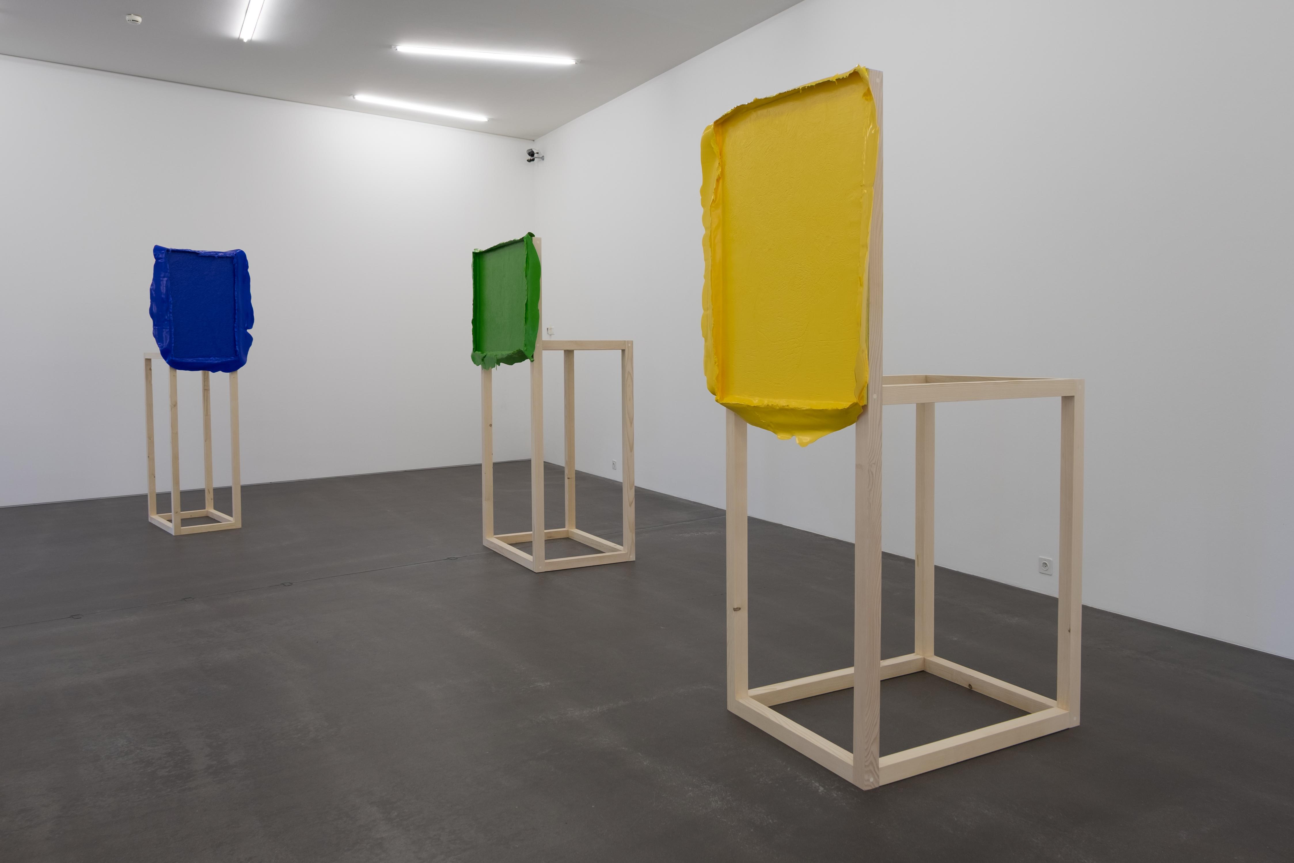 """Anna Amadio, """"Die Autonomie der Farbe -The closest I could get"""", Saalaufnahme mit van Gogh, Copyright: Amadio_Hadorn"""