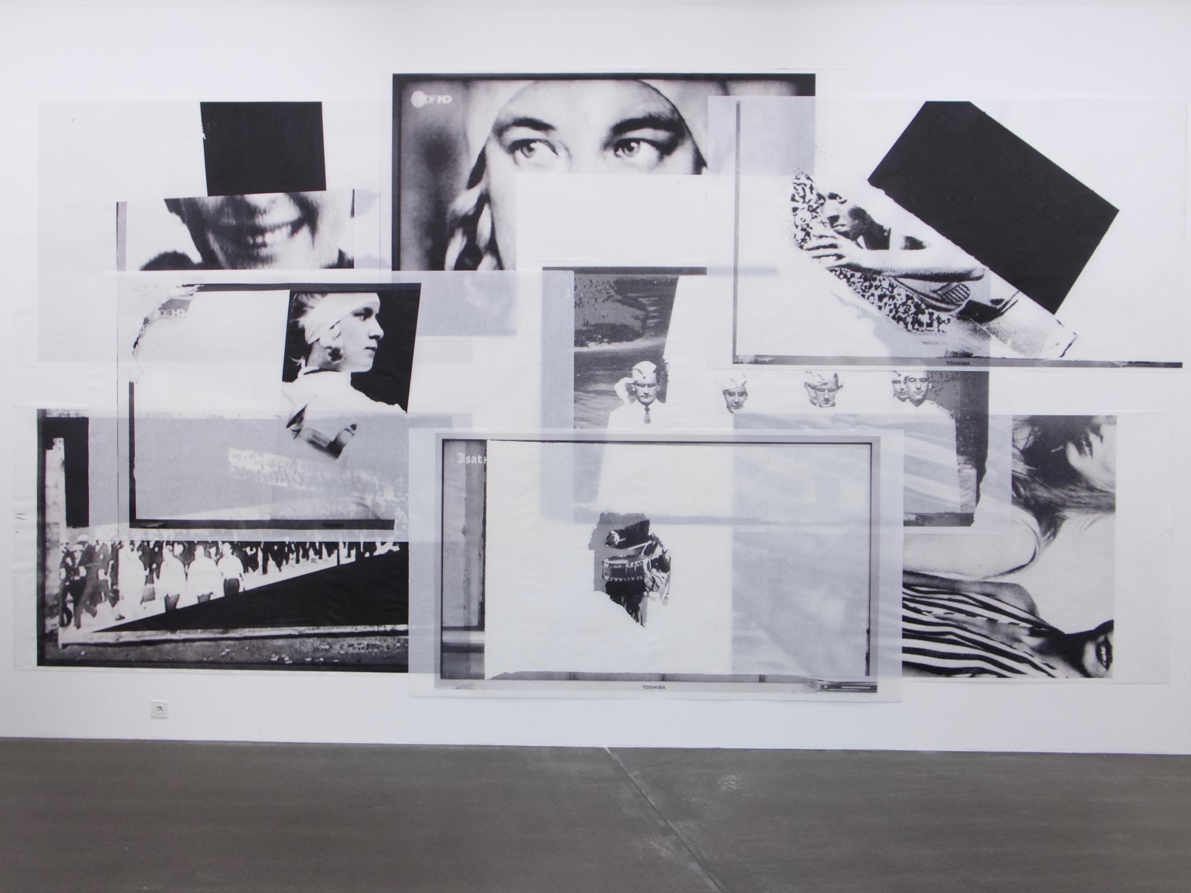 "MAMO Markova/Mollet, ""Helene, Leni, Jesse"", 2017, Installationsansicht Kunsthaus Grenchen, Copyright: Markova/Mollet"