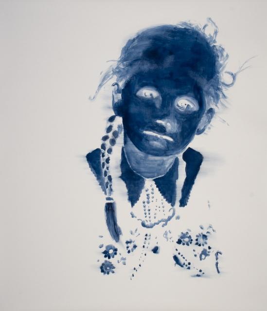 Uwe Wittwer, Porträt negativ, 2008