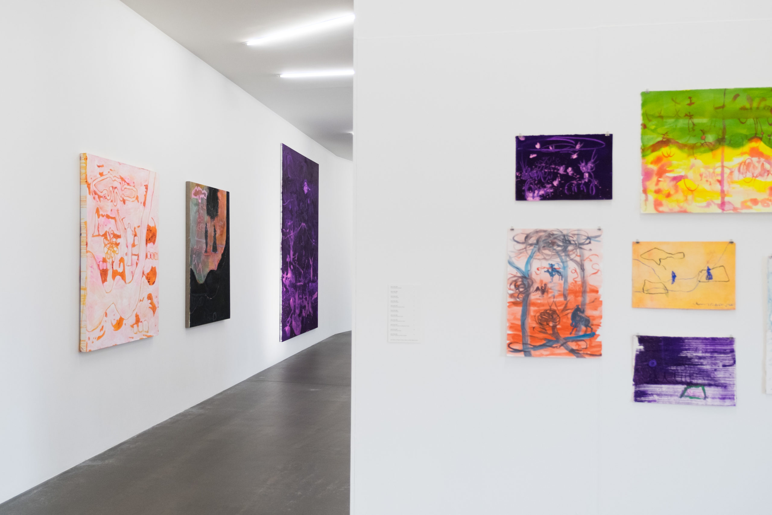 Ausstellungsansicht «Rebekka Steiger – boxing the compass», 22. März - 24. Mai 2020, Kunsthaus Grenchen, Foto: Laura Hadorn © Rebekka Steiger und Galerie Urs Meile, Beijing-Luzern