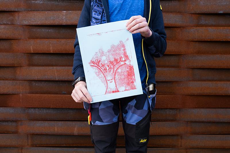 Ryan (12), Monotypie