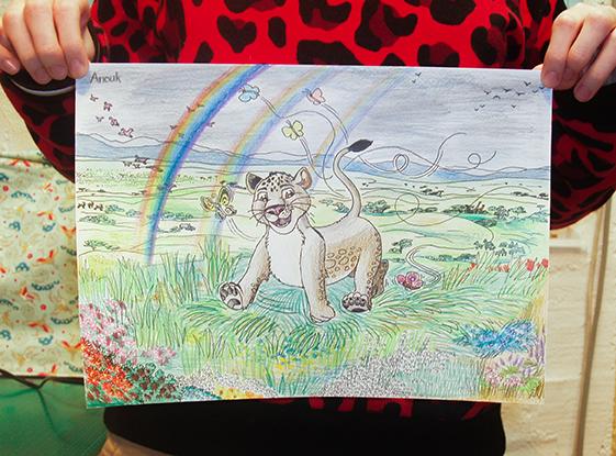 Anouk (13), Zeichnung