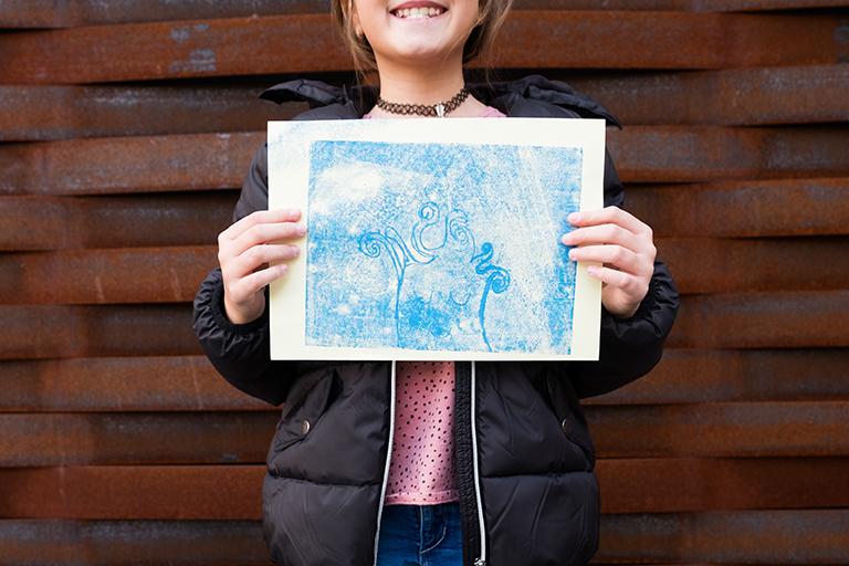 Jasmina (9), Monotypie